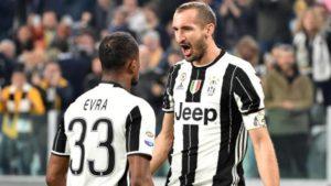 Juventus Sampdoria 4-1 Chiellini