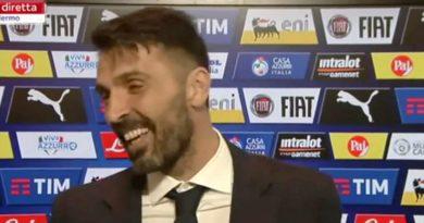 """Video, Buffon: """"L'ultima partita? Magari do una capocciata come Zidane…"""""""
