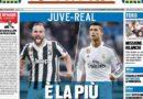 """Rassegna stampa sportiva: """"Juve-Real: è la più bella"""" """"Juve, ce la fai"""""""