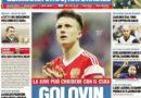 "Rassegna stampa 18 giugno: ""Golovin, la svolta"""