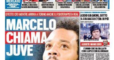 """Rassegna stampa   """"Marcelo chiama Juve"""" """"Modric strappa"""""""
