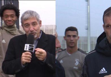 VIDEO   Cuadrado e Cristiano Ronaldo disturbano Zuliani e Allegri