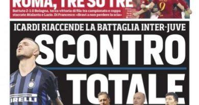 """Rassegna stampa, """"Paratici-Marotta: che botti!"""" """"Scontro totale"""""""