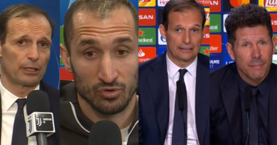 VIDEO   Interviste e conferenze stampa post Atletico Madrid-Juventus