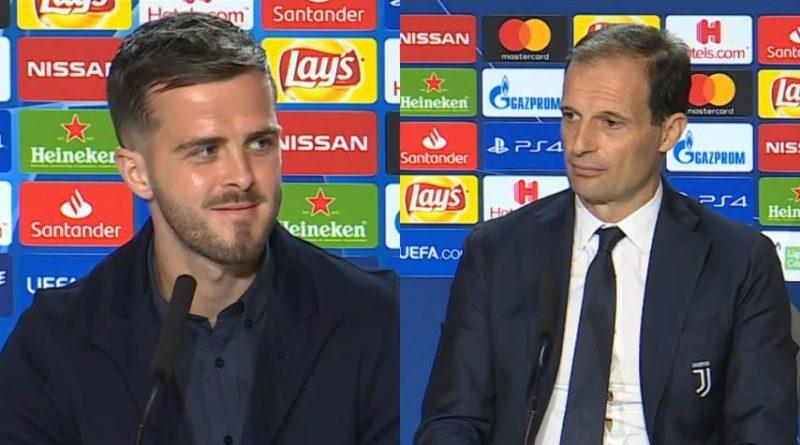 VIDEO   Conferenza stampa Pjanic e Allegri pre Atletico Madrid-Juventus