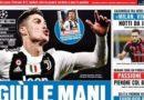 """Rassegna stampa:""""Giù le mani da Ronaldo"""" """"Patatracht"""""""