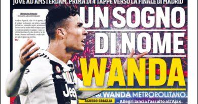 """Rassegna stampa: """"Un sogno di nome Wanda"""" """"Pensateci voi"""""""