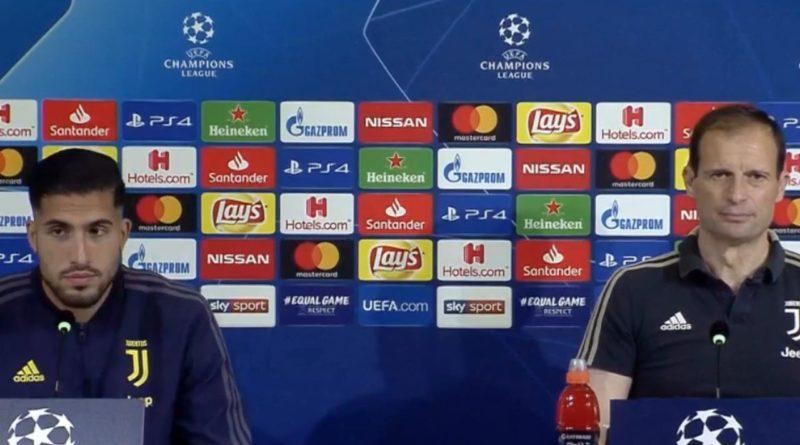 VIDEO | Conferenza stampa Allegri e Emre Can pre Juventus-Ajax