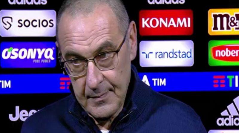 VIDEO | Intervista a Sarri post Juventus-Cagliari 4-0